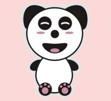 Kawaii Panda Kids Tee