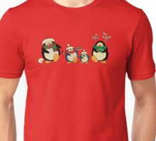 Penguin family greeting card Unisex T-Shirt