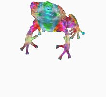 Fanciful Frog Womens Fitted T-Shirt