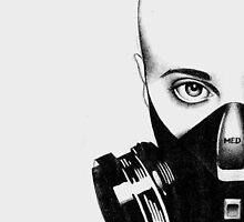 Gas Mask 2 by Tiffany Garvey