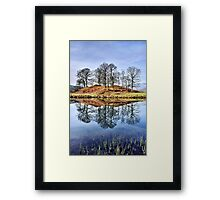 River Brathay Reflections - The Lake District Framed Print