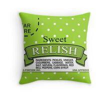 Sweet Relish Skin Throw Pillow