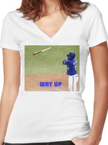 Jose Bautista Women's Fitted V-Neck T-Shirt