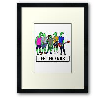 Eel Friends 3 Framed Print