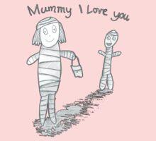 Mummie I Love You One Piece - Long Sleeve
