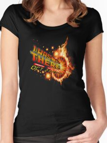 Back to the future day - out of time Women's Fitted Scoop T-Shirt