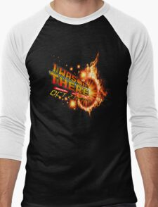 Back to the future day - out of time Men's Baseball ¾ T-Shirt