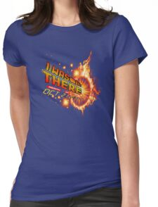 Back to the future day - out of time Womens Fitted T-Shirt