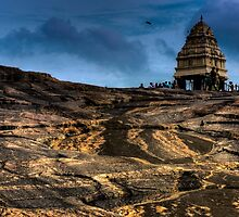 Kempe Gowda tower by cactuspink