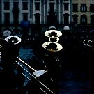 Brass Band, Firenze by Syd Winer