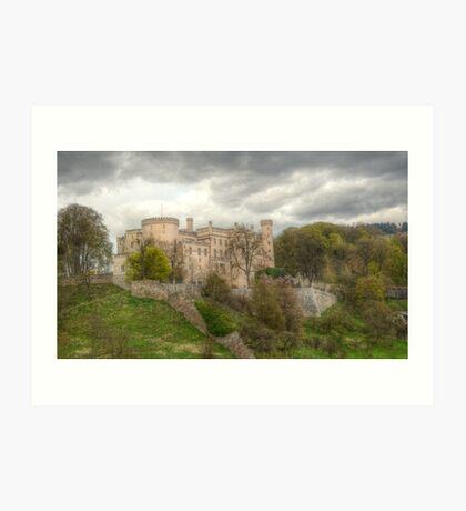 Wolfsberg Castle Art Print