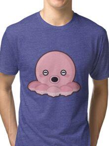 Kawaii Octopus Tri-blend T-Shirt