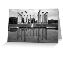The Almost Forgotten Columns Greeting Card