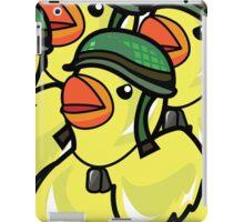 Rubber Ducky War iPad Case/Skin