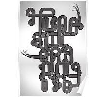 Typographic Graphic Poster