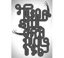 Typographic Graphic Photographic Print