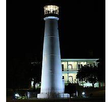 A Little Light at Night Photographic Print