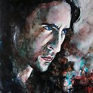 Intense (Alex O'Loughlin), featured in Painters Universe and The Group by FDugourdCaput
