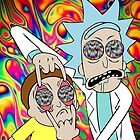 Rick and Morty Eyes Open Trip by therealcdubs