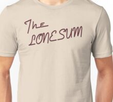 "The Lone Sum - ""I"" Unisex T-Shirt"
