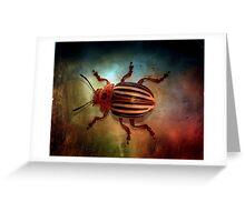 Beetle Juice Greeting Card