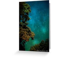 Mysterious Night Greeting Card