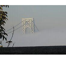 Foggy Bridge Photographic Print