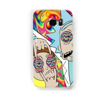 Rick and Morty Eyes Open Trip Samsung Galaxy Case/Skin