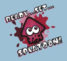 READY?SET? SPLATOON! PINK Baby Tee