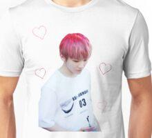 Pink Woozi + Hearts Unisex T-Shirt