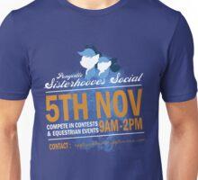 Sisterhooves Social Unisex T-Shirt