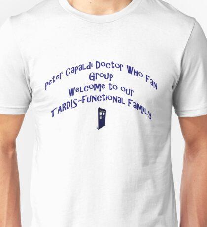 Peter Capaldi Doctor Who Group Merchandise  Unisex T-Shirt