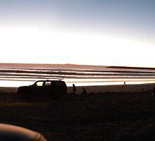 Panoramic view of Ensenada Bay area by RodrigoCardoza