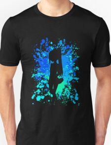 fairy tail wendy paint splatter anime manga shirt T-Shirt