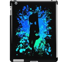 fairy tail wendy paint splatter anime manga shirt iPad Case/Skin