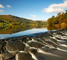 Autumn arrives at Grasmere, English Lake District by Martin Lawrence