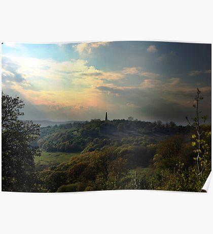 Malvern Hills Views, May Poster