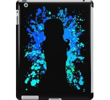 fairy tail juvia paint splatter anime manga shirt iPad Case/Skin