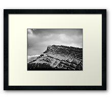Evolution Mountain Framed Print