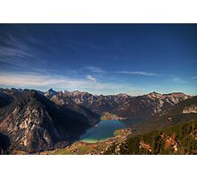 The Achensee below Photographic Print