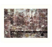 Lasalle Street, Chicago, IL Art Print