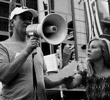 Occupy Melbourne 6 by Andrew  Makowiecki