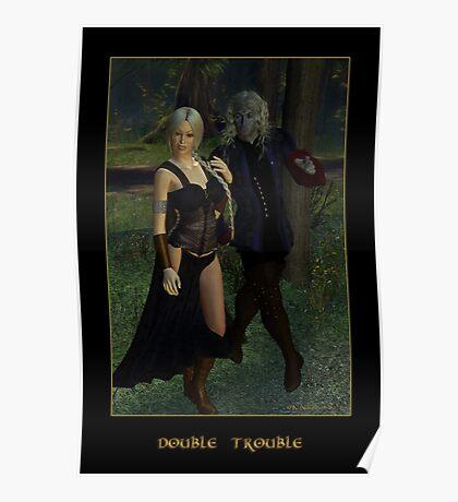 Double Trouble (Mog & Damara) Poster