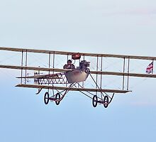 1911 - Avro Triplane (replica) at  Shuttleworth by Barry Culling