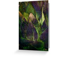 Canna In Purple Greeting Card