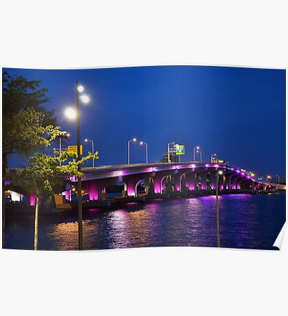 Colorful Reflections Poster