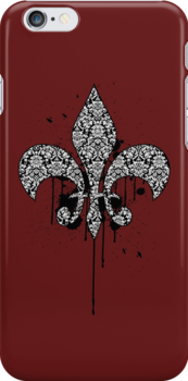 Damask Drips by tastypaper