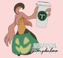 Pumpkaboo Spice Latte One Piece - Short Sleeve