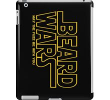 Beard Wars May The Fuzz Be With You Men's Funny Beard Sci-fi T-Shirt iPad Case/Skin
