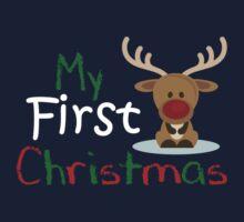 My First Christmas 2 Baby Tee